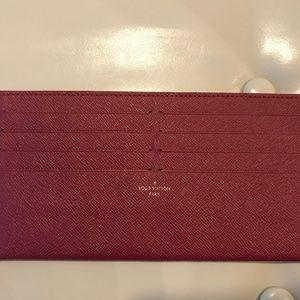 Authentic Louis Vuitton Felicie Card Holder